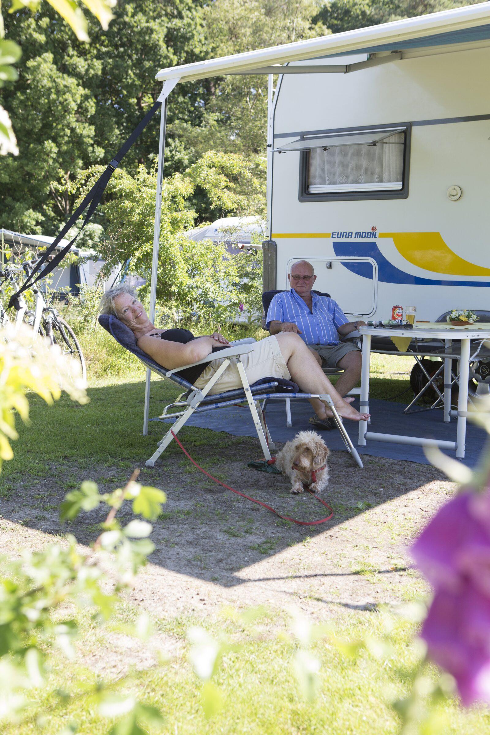 Camping Drenthe met prive sanitair