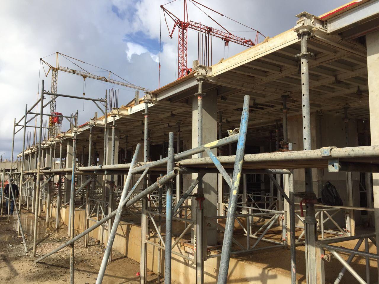 La construction progresse à un bon rythme!