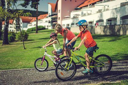 Děti v Lipno Lake Resortu