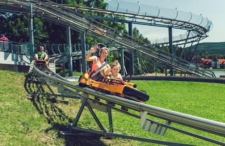 Bobsleigh track Lipno