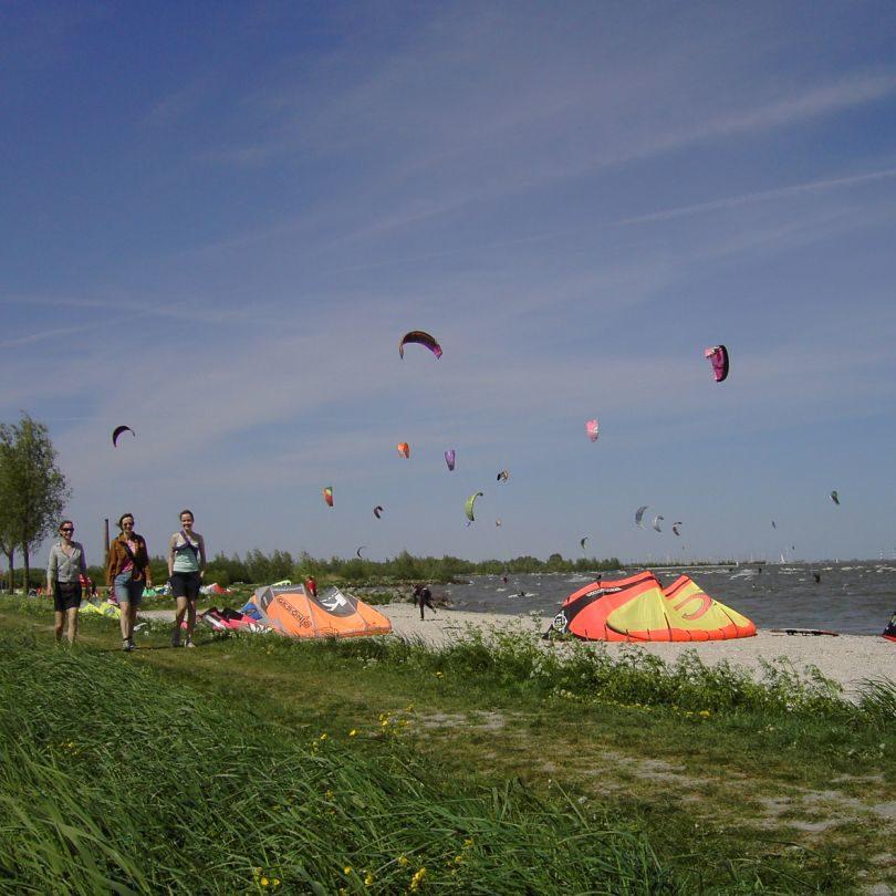 Kitesurfing-Platz