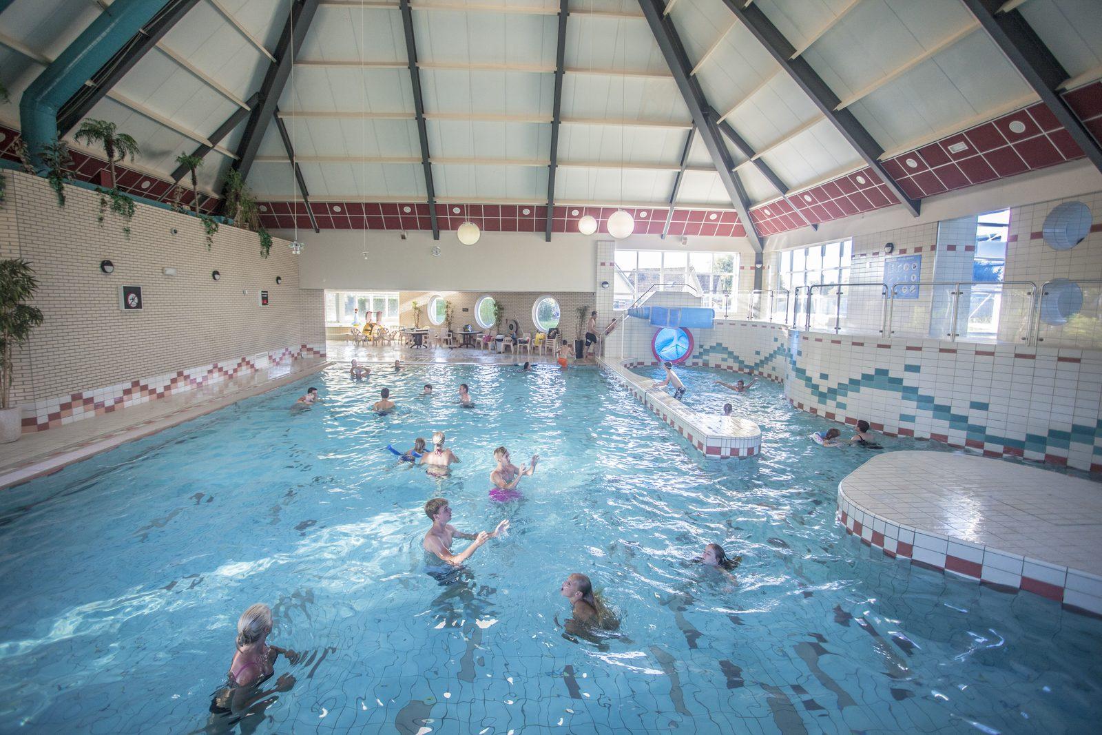 Beheiztes Schwimhalle