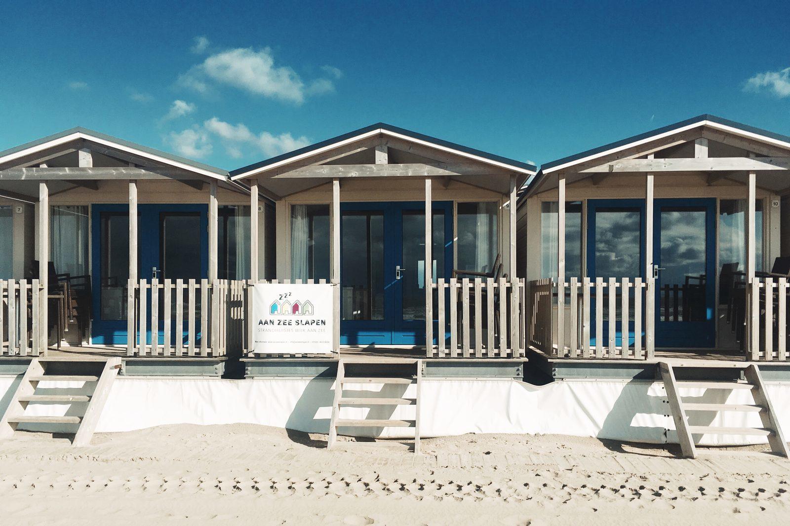 Aan Zee Slapen strandhuisje Wijk aan Zee