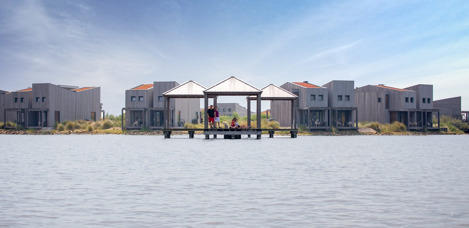 Hotelstudio waterzijde aan het Grevelingenmeer