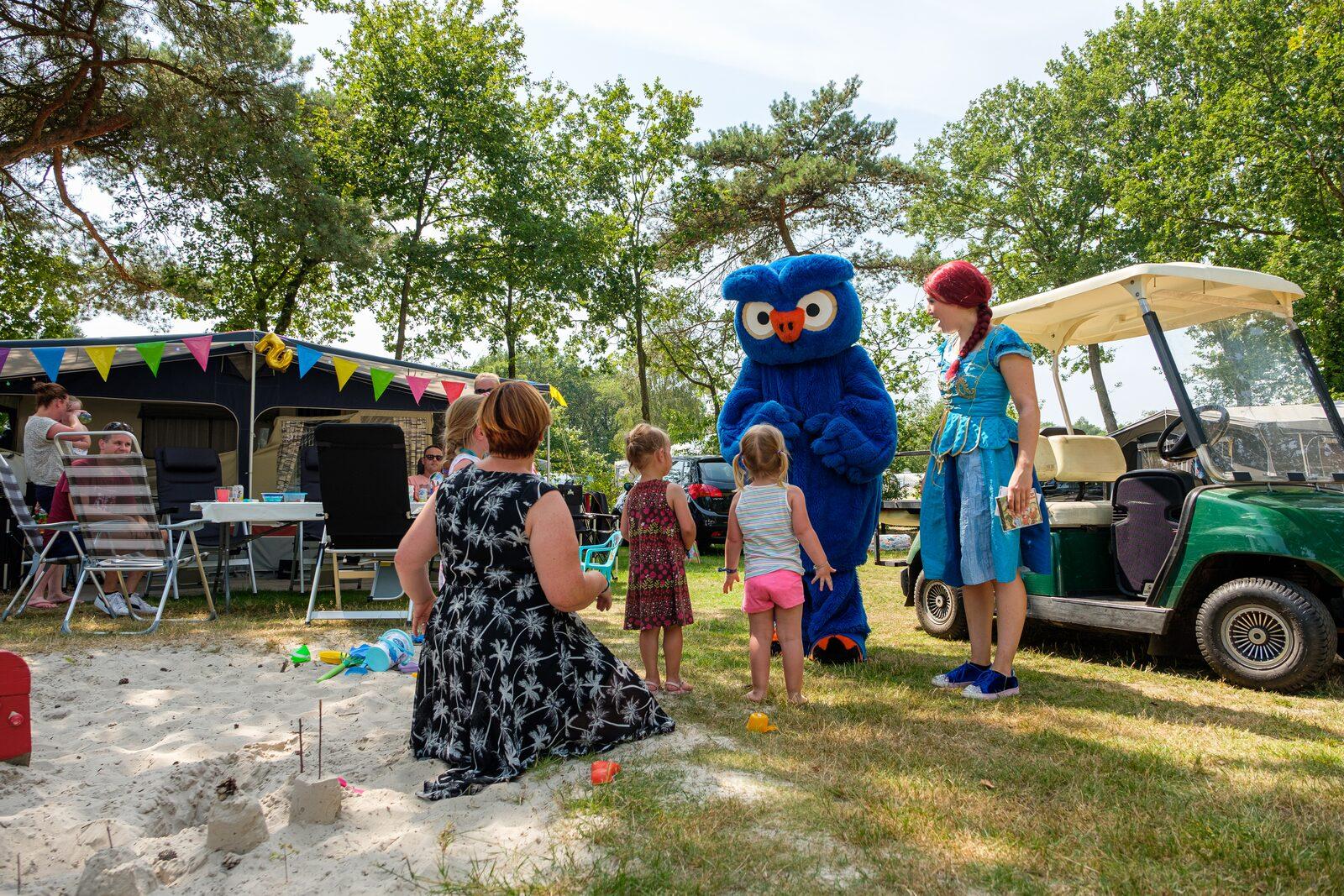Children's campsite in The Netherlands