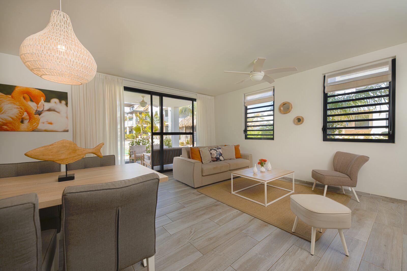 Vous cherchez un appartement à Bonaire? Affichez ici les logements disponibles dans notre hôtel.