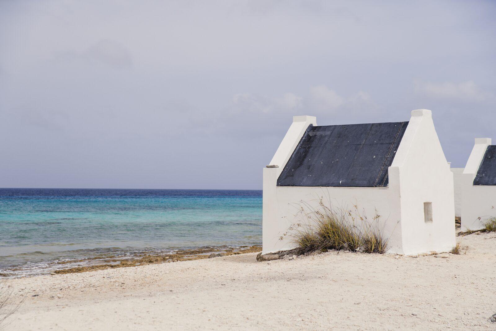 Cabanes d'esclaves à Bonaire