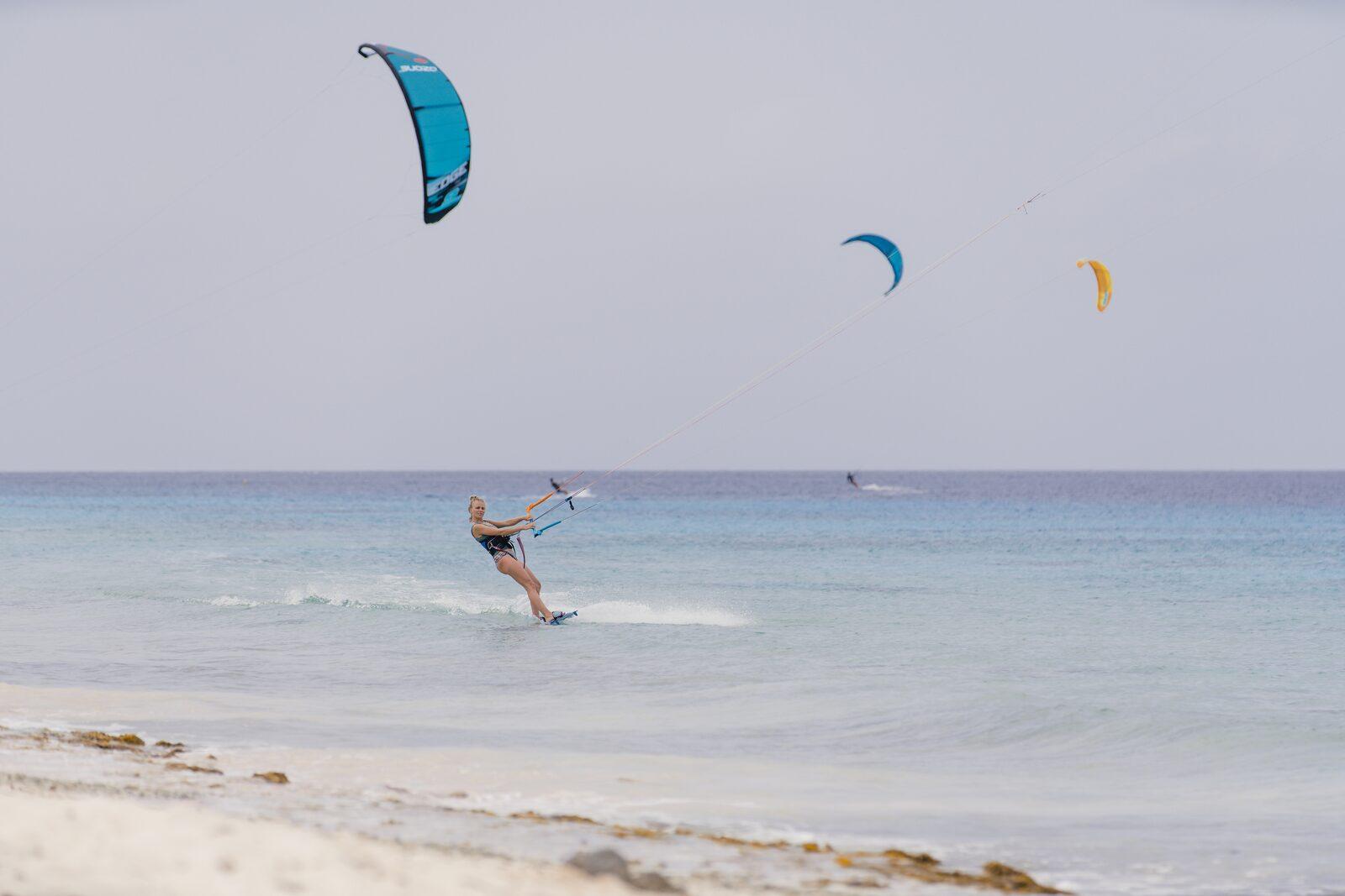 Kite boarding Bonaire