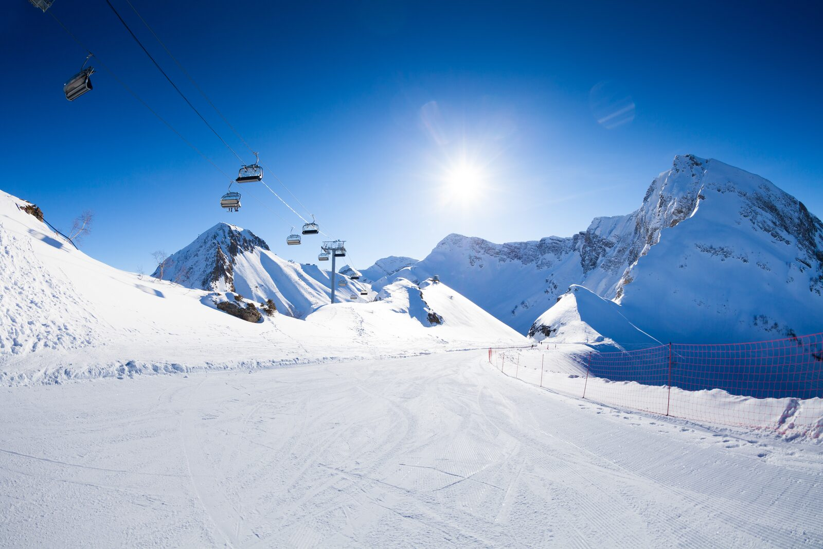Spectacular slopes