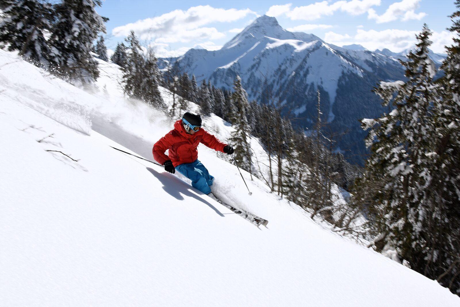 The most steep slopes of Les Portes du Soleil