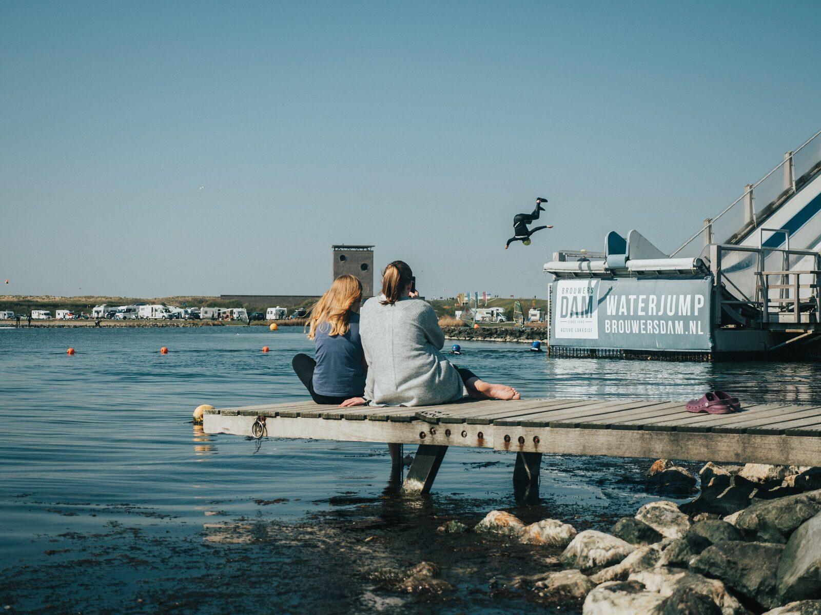 Waterjump Brouwerdam