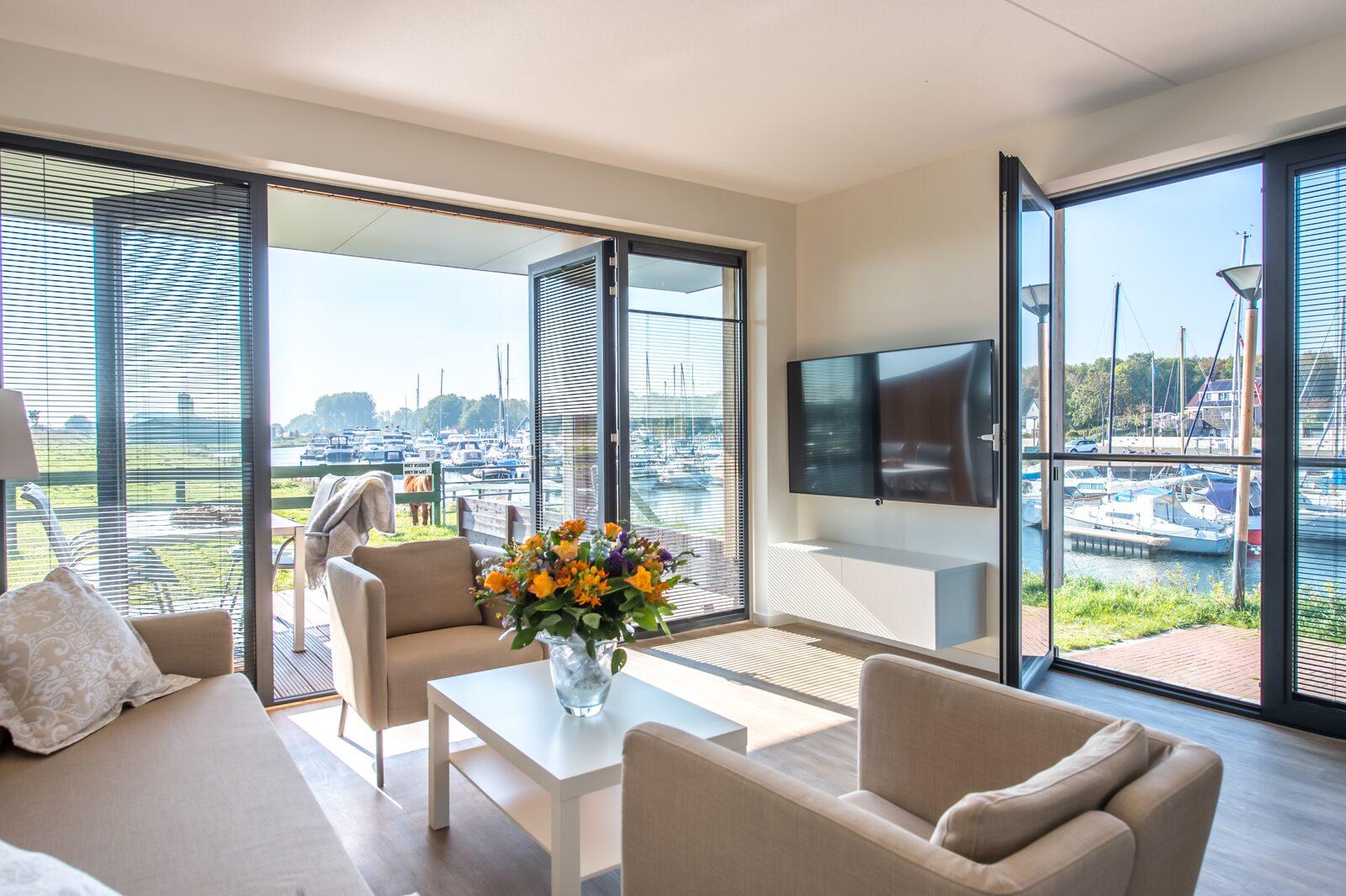 Luxurious apartments in Zeeland along the Veerse Meer