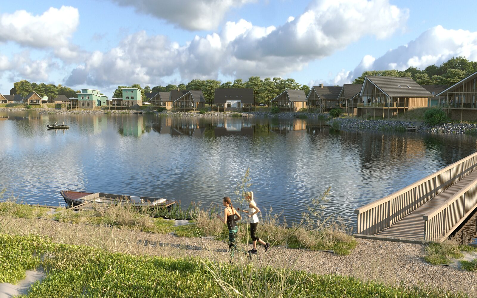 Buy recreational home on the waterside