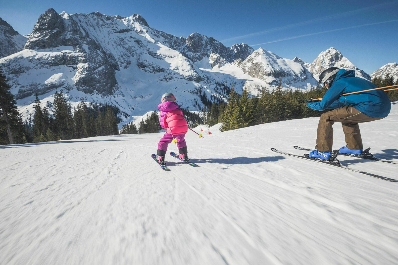 Winter in Ehrwald, Tirol