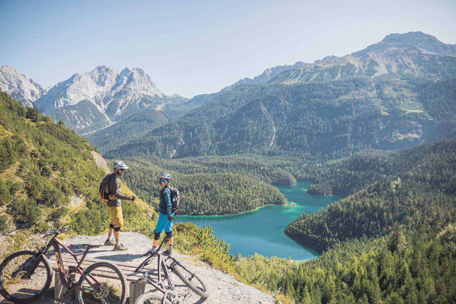 Mountainbiken rund um die Zugspitze