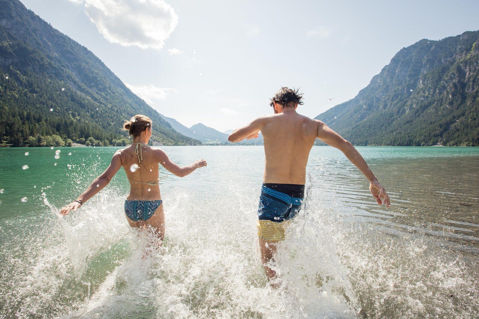 Schwimmen & Bergseen bei Ehrwald