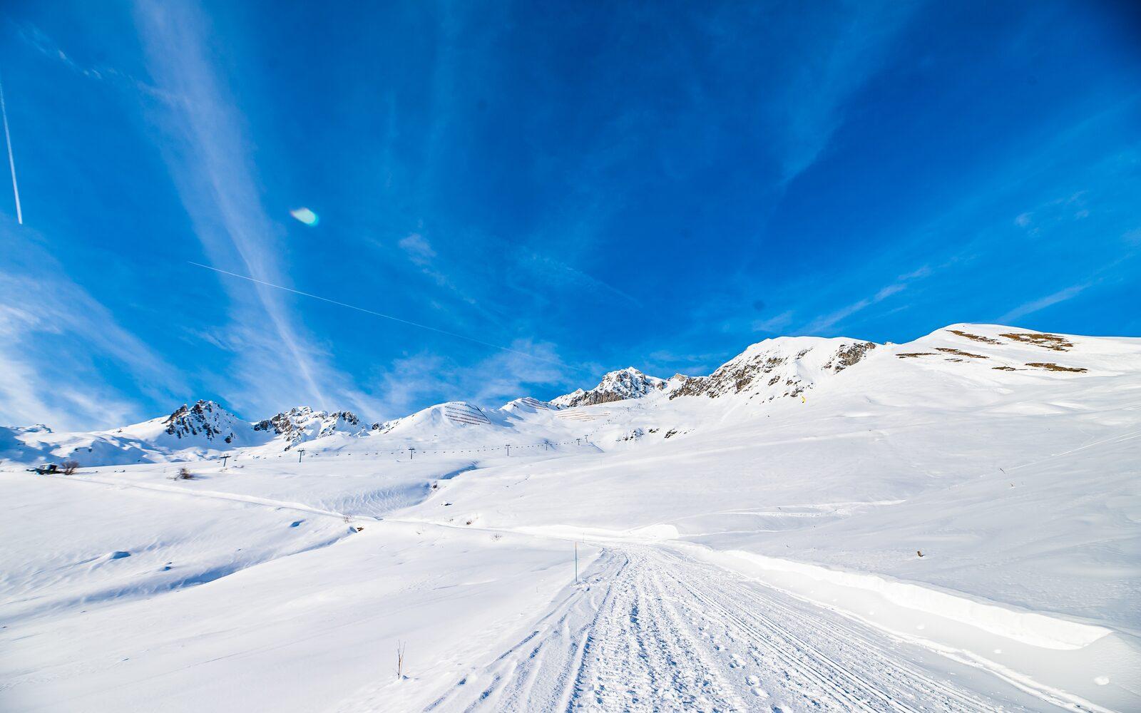 Valmorel skigebied