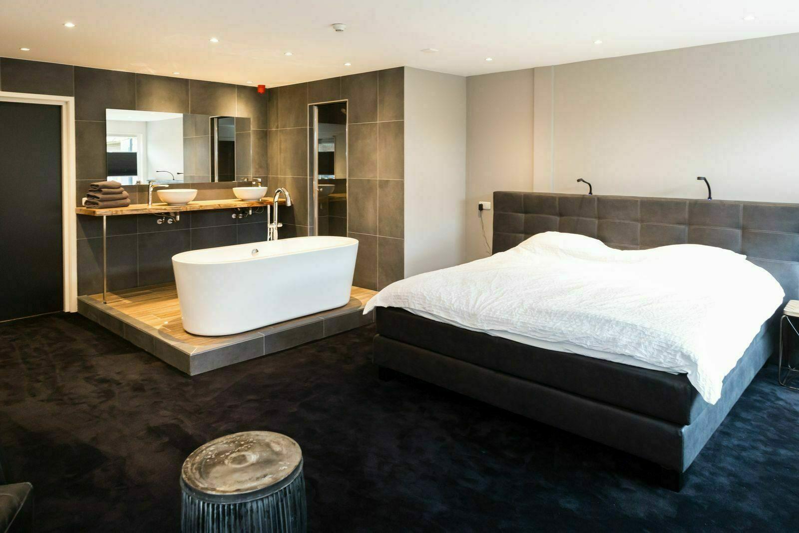 Slaapkamer met eigen sanitair